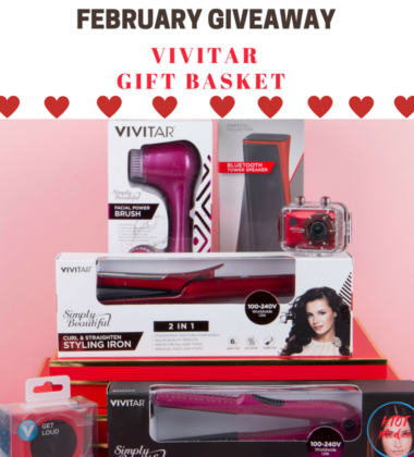 Please enter our February Vivitar Gift Basket Giveaway- ends 2/28 #win #valentinesday #entertowin