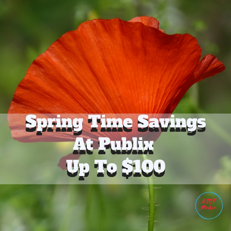 Spring Time Savings At Publix - Up To $100