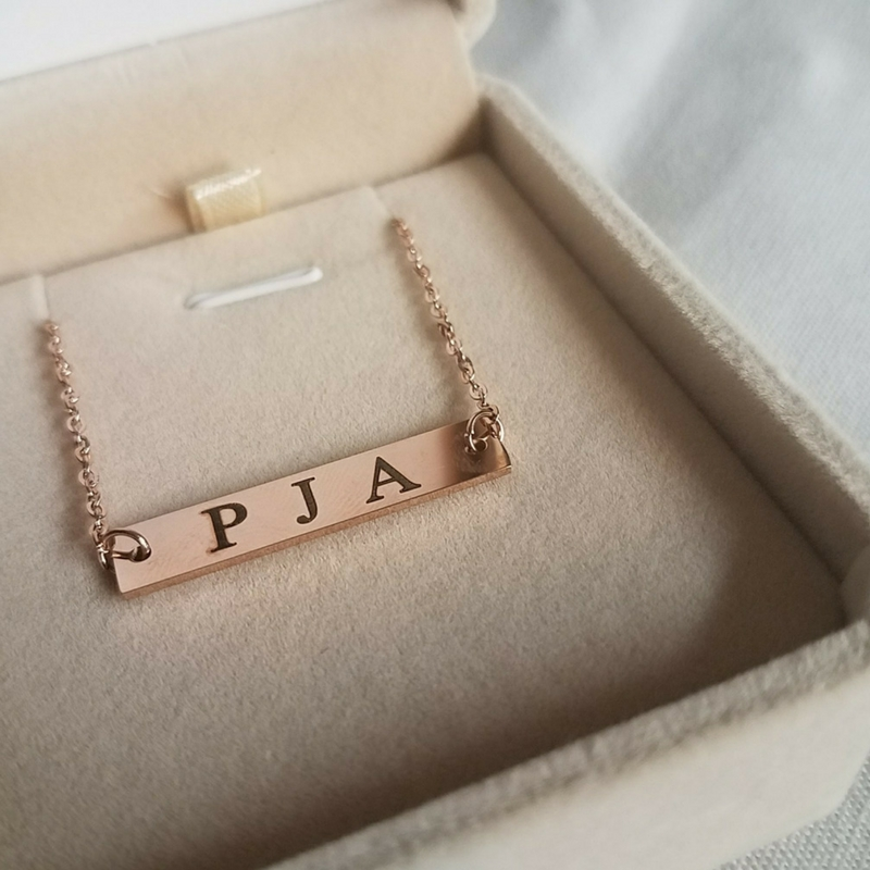 looking for the perfect mother u0026 39 s day gift  why not a monogram necklace