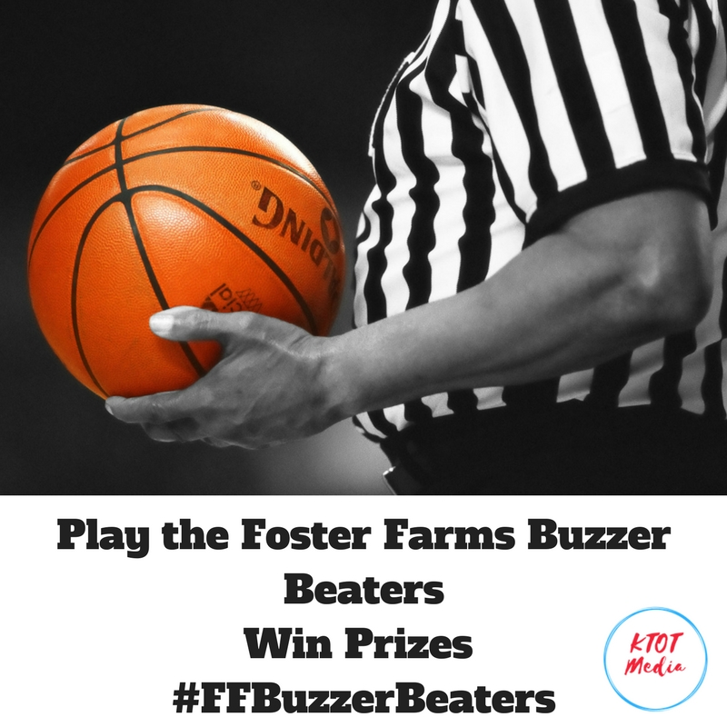 Foster Farms Buzzer Beaters – Make Gametime Snacking A Slam Dunk! #FFBuzzerBeaters