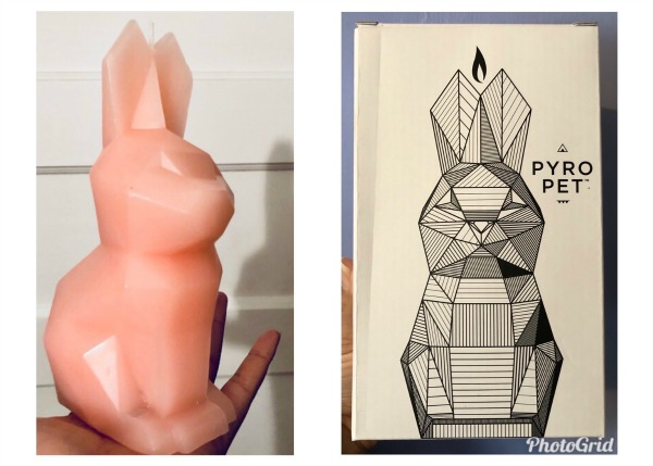 Check Out this Surprisingly Unique Bunny Candle from the Pyro Pet Candle Company! 1