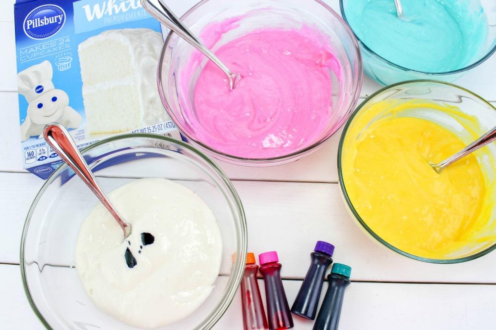 Easter Cake In A Jar Recipe In Process 1