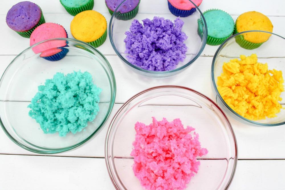 Easter Cake In A Jar Recipe In Process 3