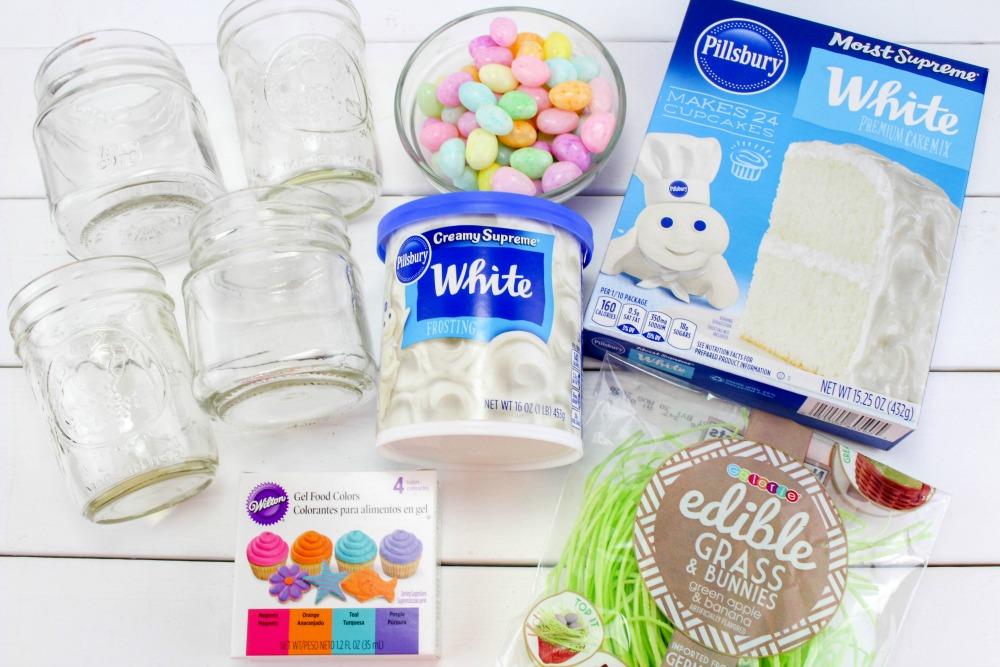 Easter Cake In A Jar Recipe Ingredients