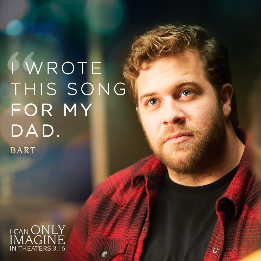 I Can Only Imagine-The Hit Song Is Now A Movie!