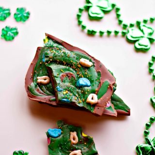 St. Patrick's Chocolate Bark Recipe