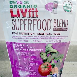Organic LIVfit Superfood Blend With Protein Is An Easy, Nutritious Addition To Your Meals