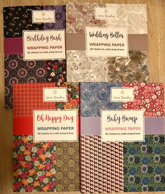 Gifts With Vera Bradley Wring Paper
