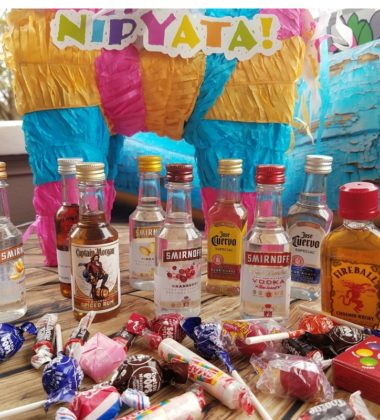 Are You Ready To Get Smashed With The Nipyata! Personalized Booze Piñata