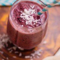 Blueberry and Avocado Smoothie Recipe