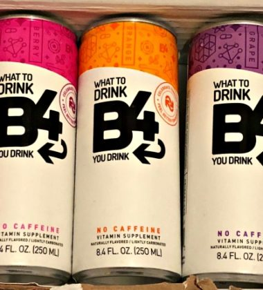 Get Up and Get Stuff Done After Drinking Alcohol with B4 Supplement Drinks 1