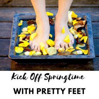 Kick Off Springtime With Pretty Feet