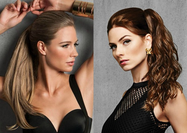 Rock Spring Hair Trends with a Ponytail Extension from Hairdo 1