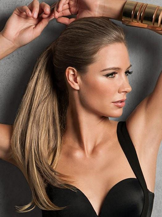 Rock Spring Hair Trends with a Ponytail Extension from Hairdo 2