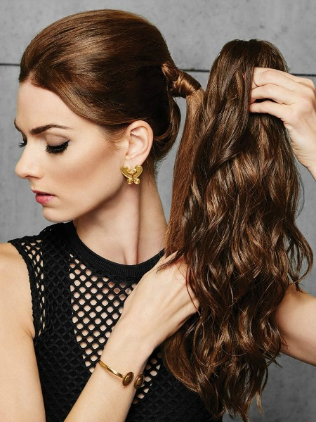 Rock Spring Hair Trends with a Ponytail Extension from Hairdo 5