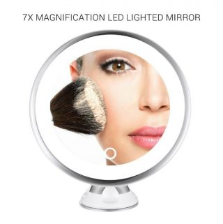 Stay Put Together with the MelodySusie Portable Magnified LED Lighted Makeup Mirror