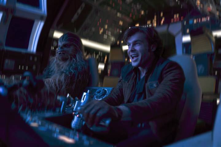 SOLO: A STAR WARS STORY in Theatres on May 25th! #HanSolo