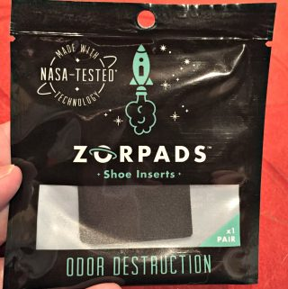 Zorpads Take Shoe Odors Away