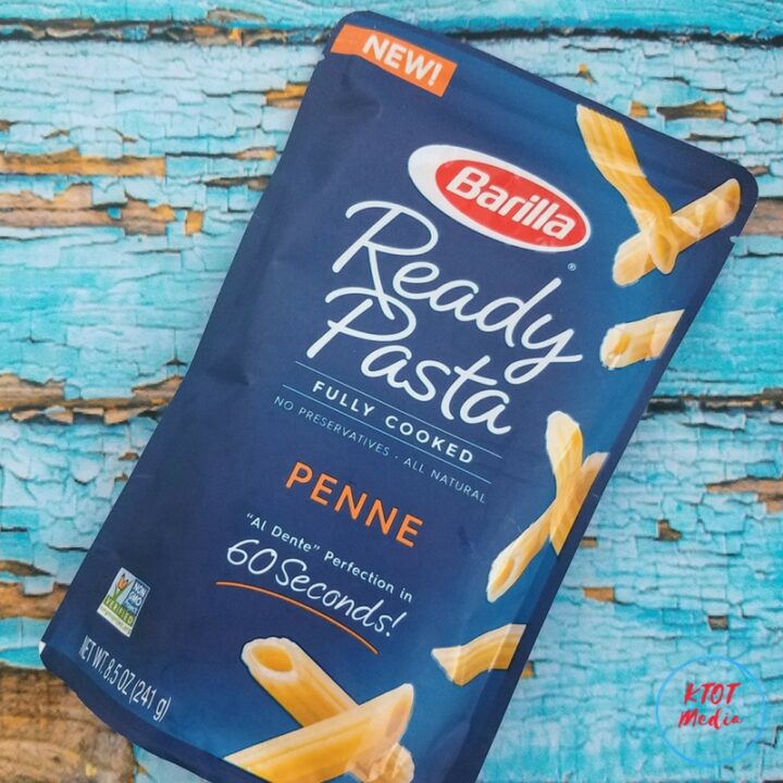 I couldn't believe how easy and delicious Barilla Ready Pasta was after only 60 seconds in the microwave. Bam...dinner is READY!