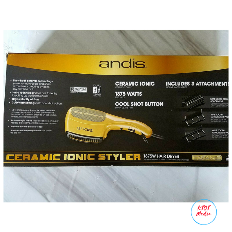 Ceramic Ionic Styler Hair Dryer! T