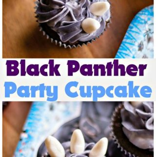 Black Panther Party Cupcake Recipe