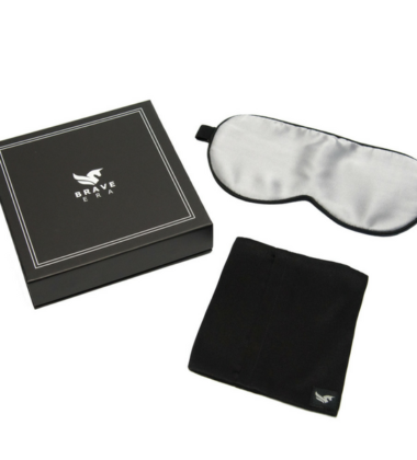 SLEEP EASY WITH BRAVE ERA SILK SLEEP MASK