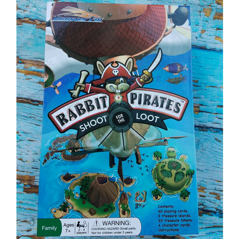 RABBIT PIRATES-SHOOT FOR THE LOOT#ad #RoosterFinGames #familyfun