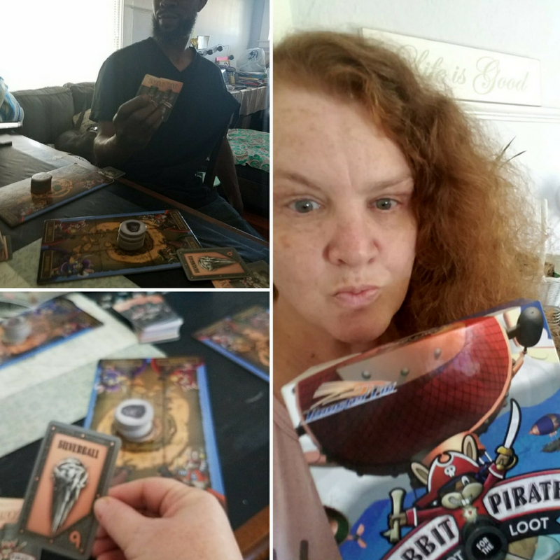 FAMILY GAME NIGHT – RABBIT PIRATES-SHOOT FOR THE LOOT#ad #RoosterFinGames #familyfun