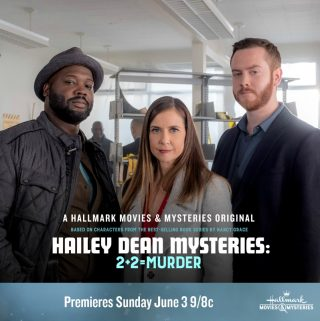 "Hallmark Movies & Mysteries ""Hailey Dean Mysteries: 2+2 = Murder"" Premiering this Sunday, June 3rd at 9pm/8c!"