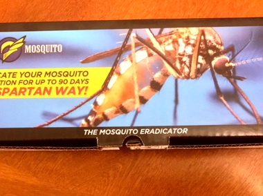 Keep Mosquitoes Away with Spartan's Mosquito Eradicator
