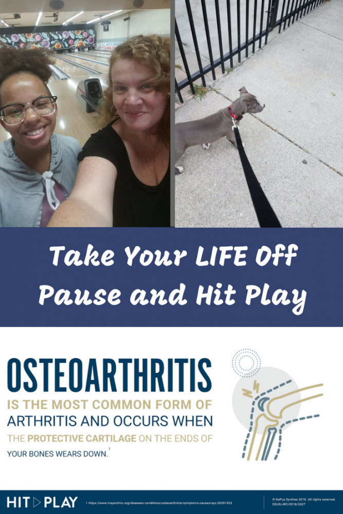 If you are dealing with hip and knee pain and limited mobility, it can feel like your life is on pause. Take action and Hit Play. Take Your Life Off Pause and Hit Play