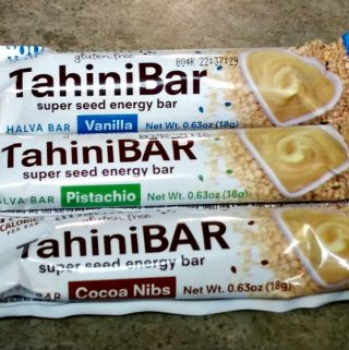 TahiniBAR – A Sweet Treat And Energy Bar Made From Sesame Seeds!