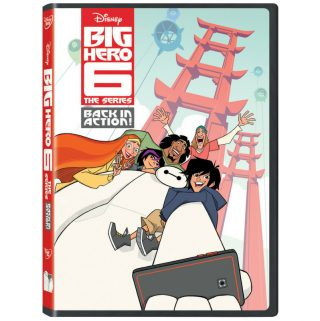 """Big Hero 6 The Series – Back in Action"""" DVD brings Hiro, Baymax, and the gang together"""