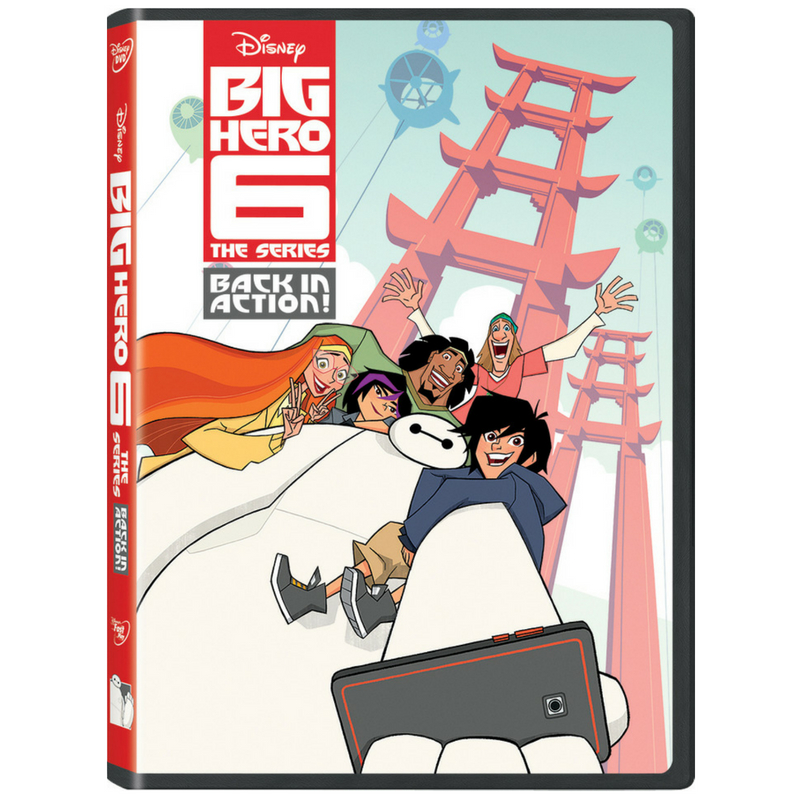 "Big Hero 6 The Series – Back in Action"" DVD brings Hiro, Baymax, and the gang together"