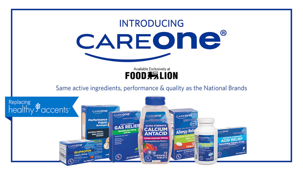Thank goodness Food Lion has CareOne products that I can buy over-the-counter and are very affordable for this family of mine.