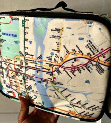 Get Into a New York State of Mind with the NYC Subway Line Reusable Lunch Bag 2
