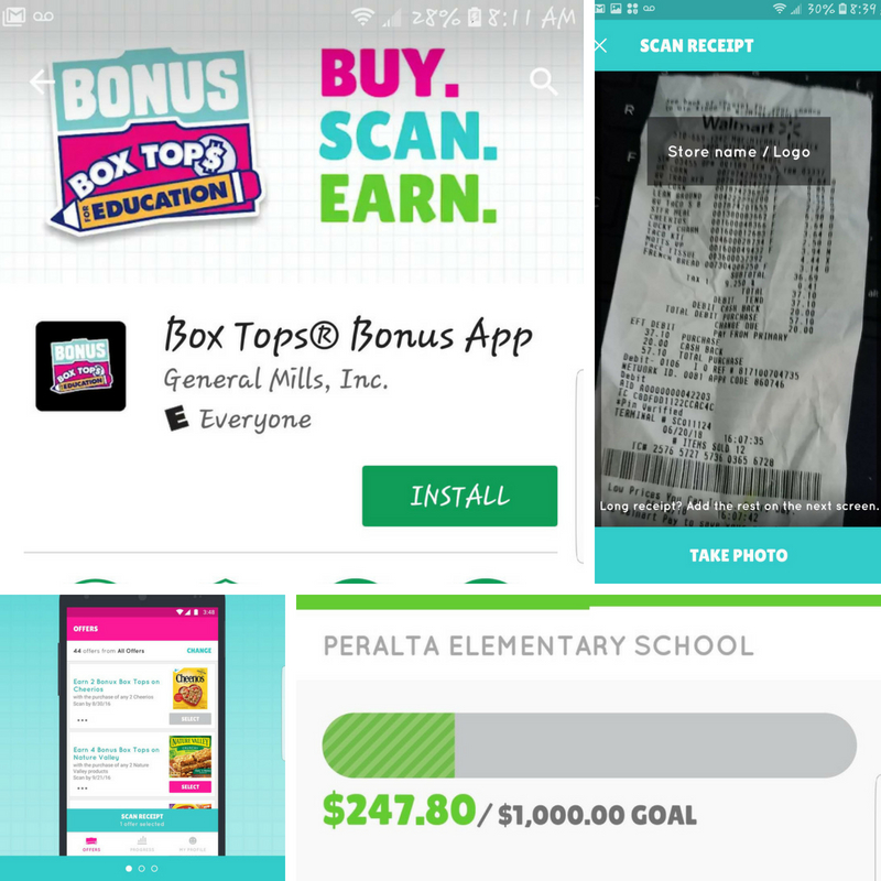 Box Tops Are The Bomb Buy 5 products, Get 50 Box Tops offer through the BTFE App