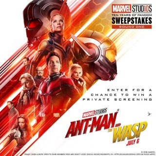 Marvel Studios Ten Years of Fandom Sweepstakes- Win A Private Screening