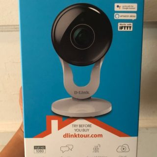 Monitor Your Home This Summer with D-Link's Full HD Wi-Fi Camera (DCS-8300LH) 01