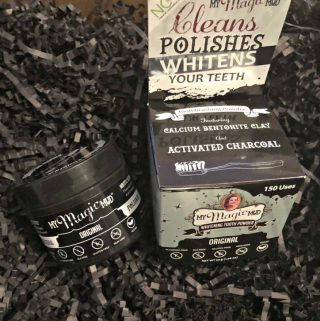 Naturally Clean, Whiten and Detox Your Teeth with My Magic Mud Activated Charcoal Whitening Tooth Powder