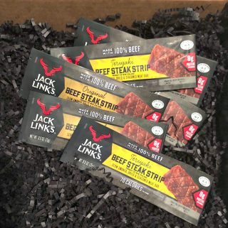 Snack On-the-Go with Jack Link's Beef Steak Strips