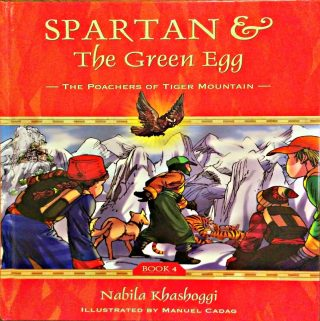 Spartan & The Green Egg Are Back For An Amazing Adventure And Mission