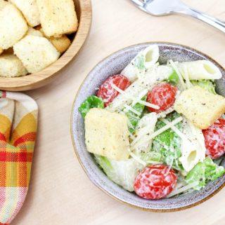 Summer Caesar Pasta Salad Recipe