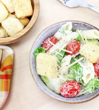 Summer Caesar Pasta Salad