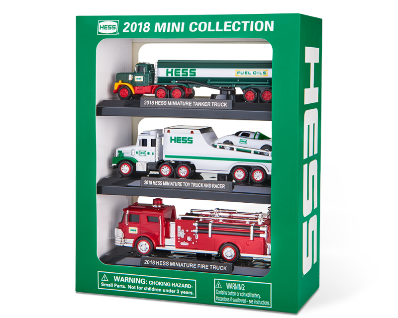 The 2018 Hess Toy Truck Line-Up Is Officially Here