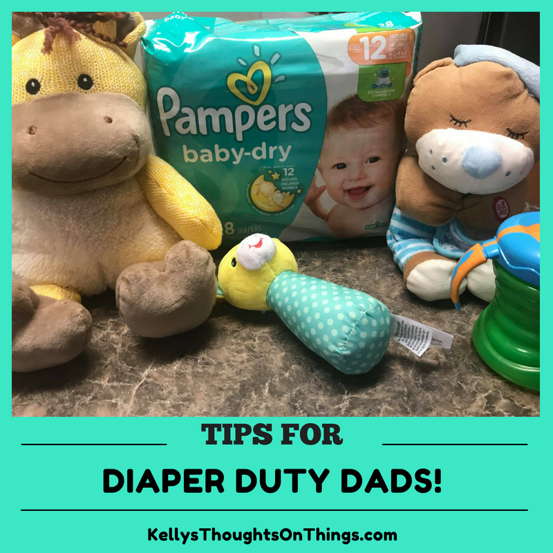 Tips For Diaper Duty Dads!