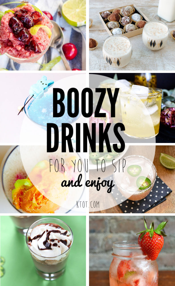 Boozy Drinks For You To Sip