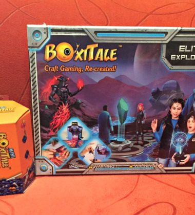 Crafting + Board Games = BoxiTale for Kids!