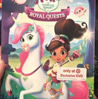 Nella The Princess Knight Has a New DVD!