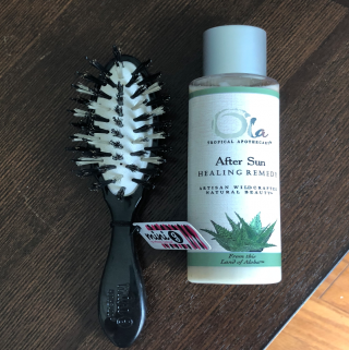 Get Summer Ready With Ola After Sun Lotion And Hothead's Mini Brush